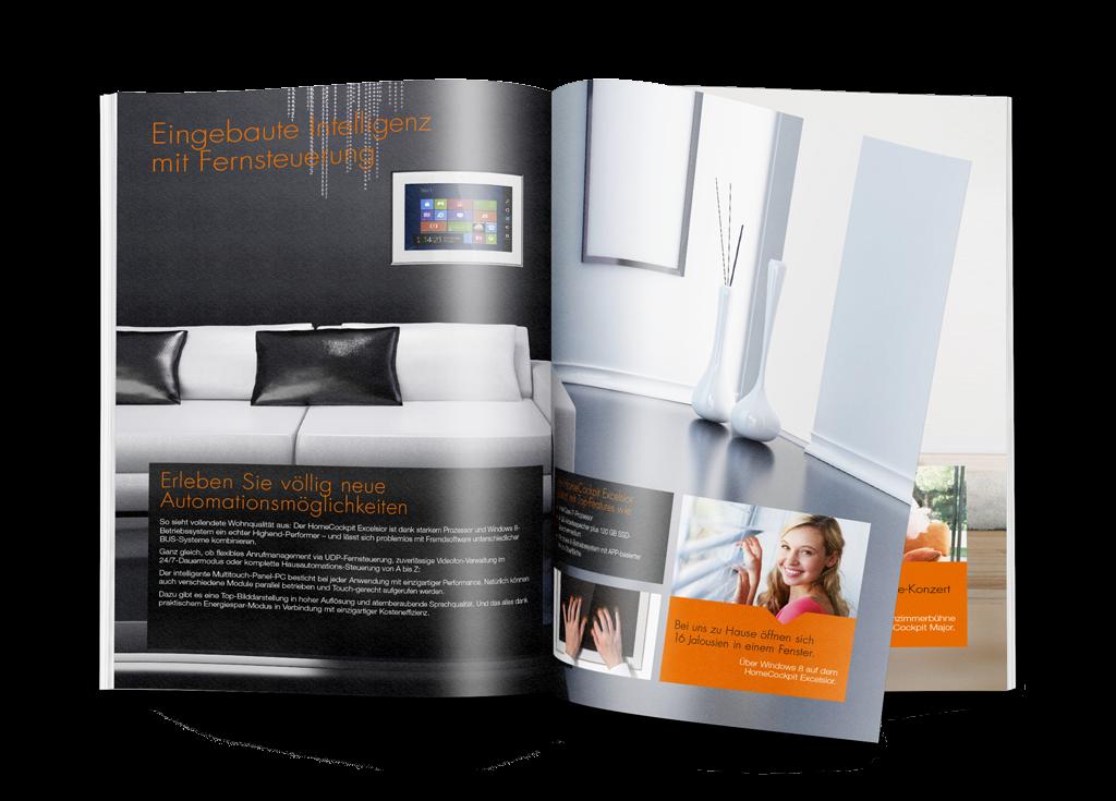 Home Cockpit Imagebroschüre Produktinformationen