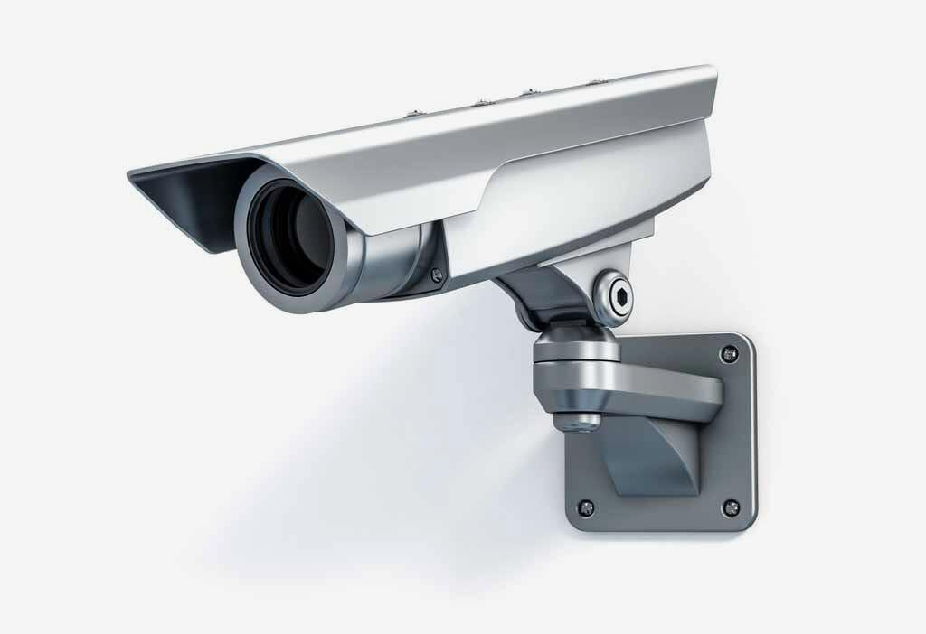 Überwachungs-Kamera